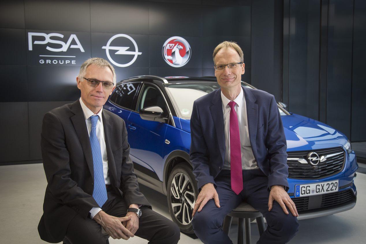 Opel y PSA