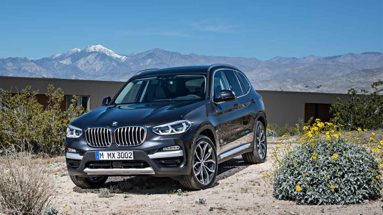 BMW X8 y el eléctrico iX3, los nuevos SUV de BMW
