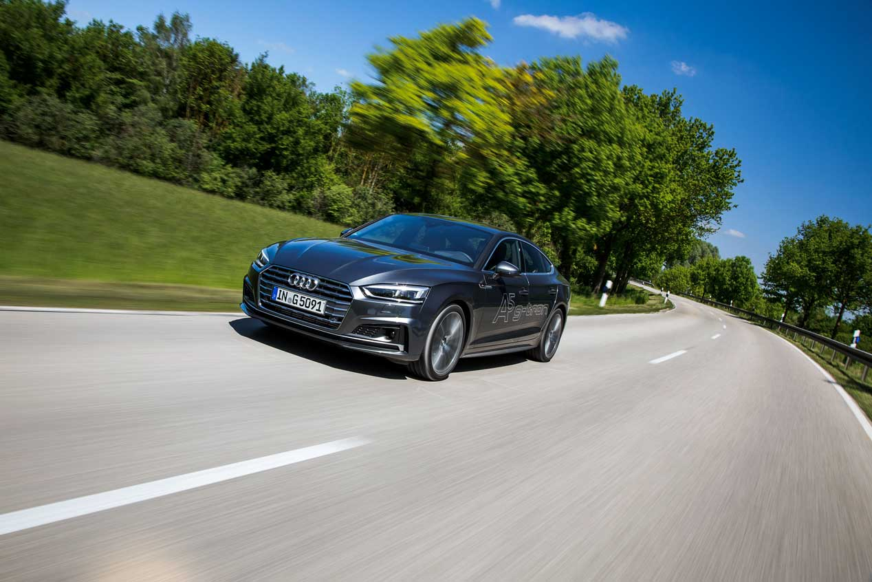 Audi completa su A4 Avant y el A5 Sportback con GNC