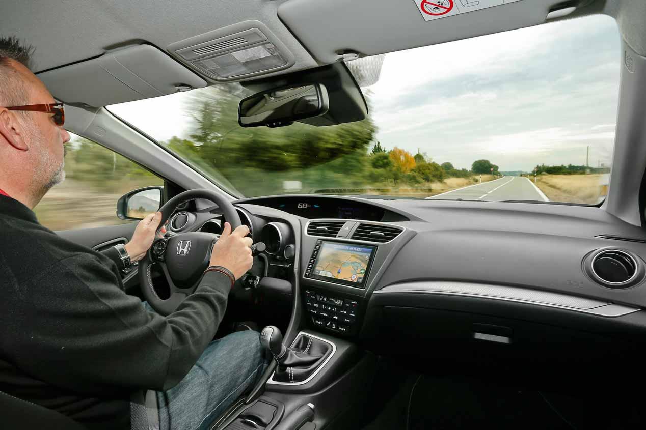 A prueba el Honda Civic Tourer y el Renault Mégane Sport Tourer
