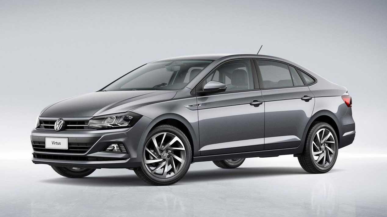 Volkswagen Virtus, las primeras imágenes del Polo sedán