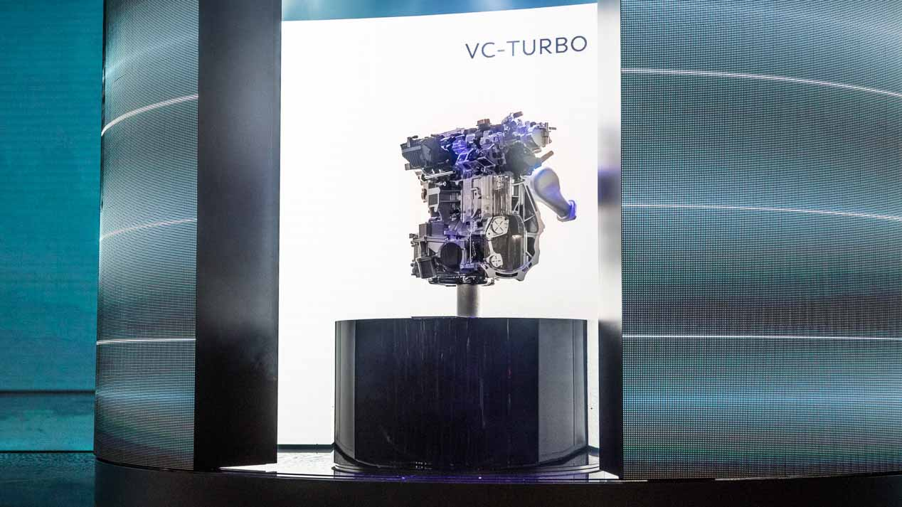 Infiniti sigue adelante con su motor de compresión variable VC-Turbo