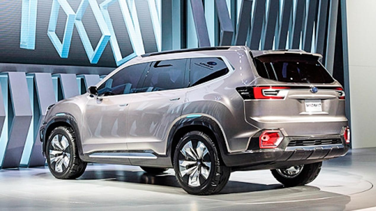 Subaru Ascent Concept, nuevo SUV de gran tamaño en 2019