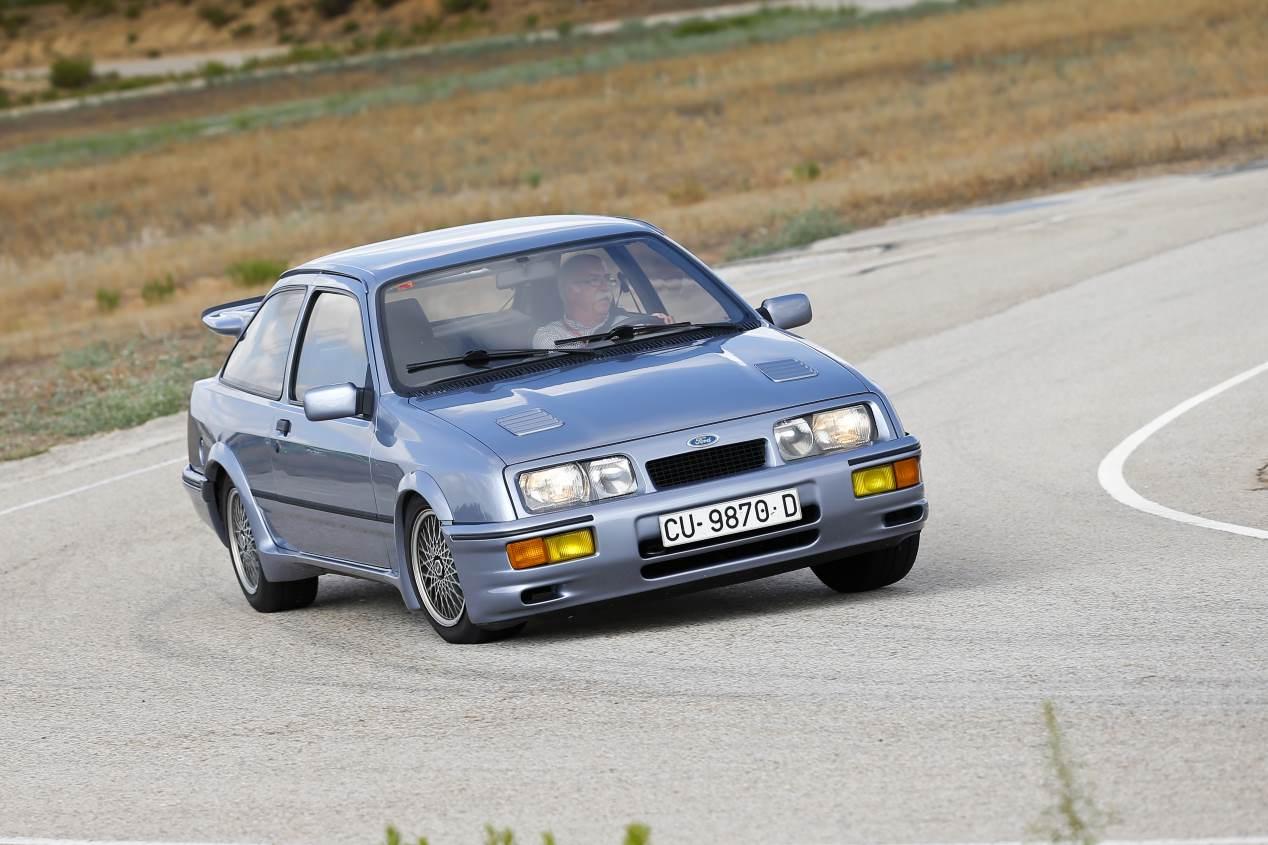 Ford Sierra RS Cosworth: prueba e historia