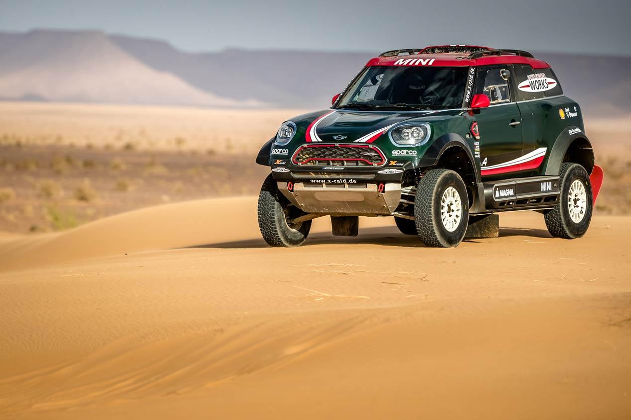 Mini JCW Buggy y Mini JCW Rally 4x4, apuesta doble para el Dakar 2018