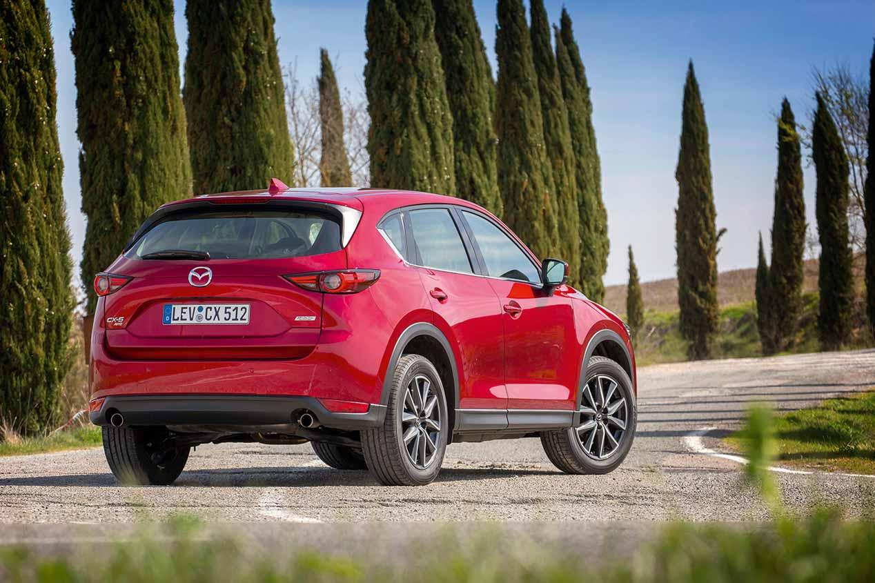 Mazda CX-5 2.5 Skyactiv-G con desconexión de cilindros