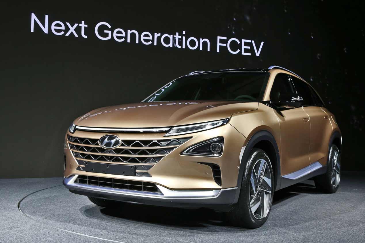 Hyundai presentará su nuevo SUV de hidrógeno en enero de 2018