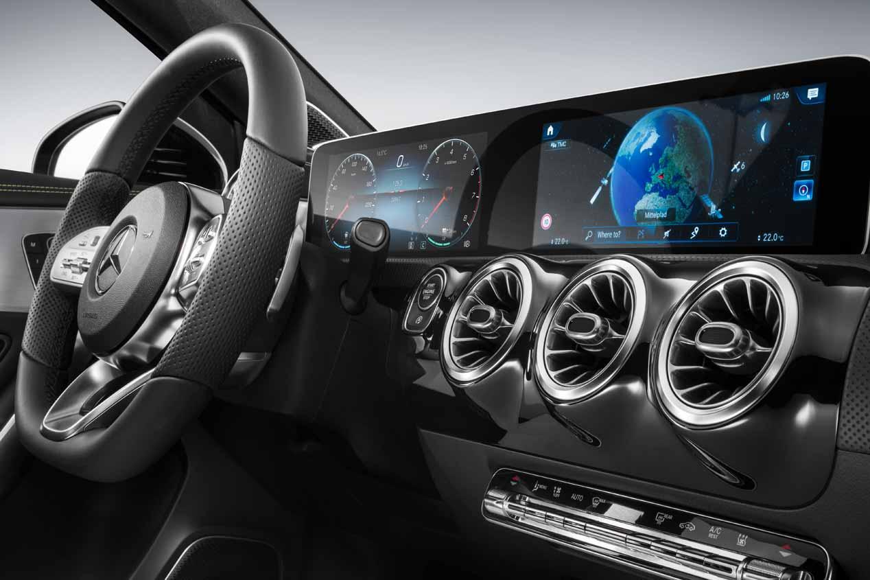 Mercedes Clase A 2018: así es su interior