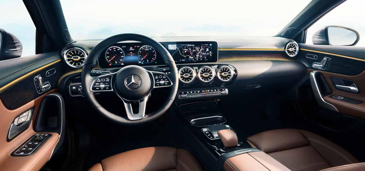 Mercedes clase a 2018 primeros datos y fotos de su for Interior mercedes clase c