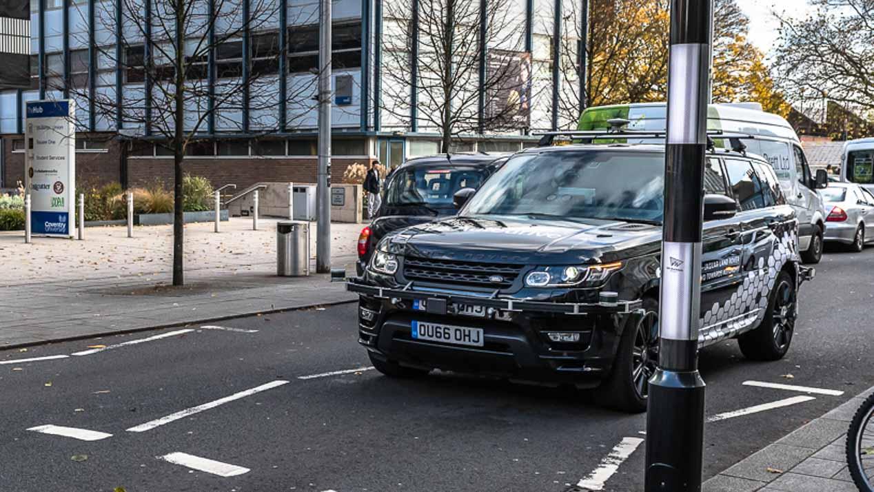 Los coches autónomos de Jaguar y Land Rover por las calles de Coventry