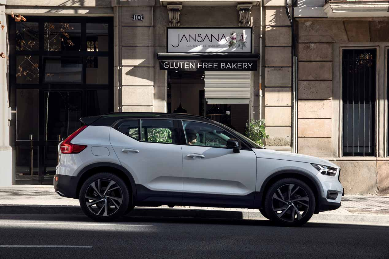 volvo xc40 primera prueba y precios de un suv muy interesante. Black Bedroom Furniture Sets. Home Design Ideas