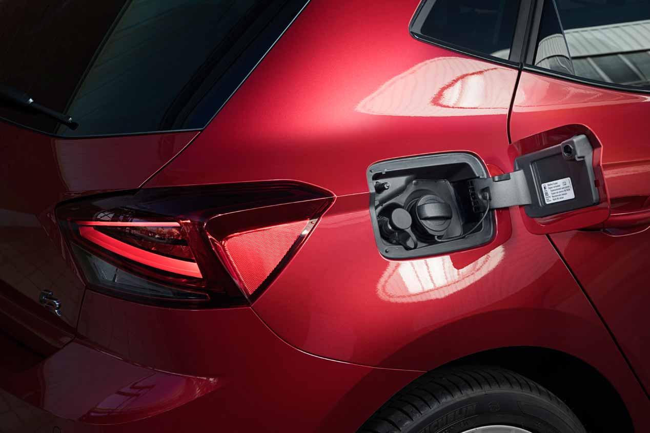 El Seat Ibiza de gas natural, en imágenes