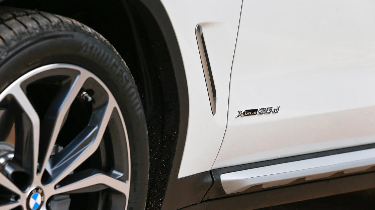 A prueba el BMW X3 Diesel de 190 CV