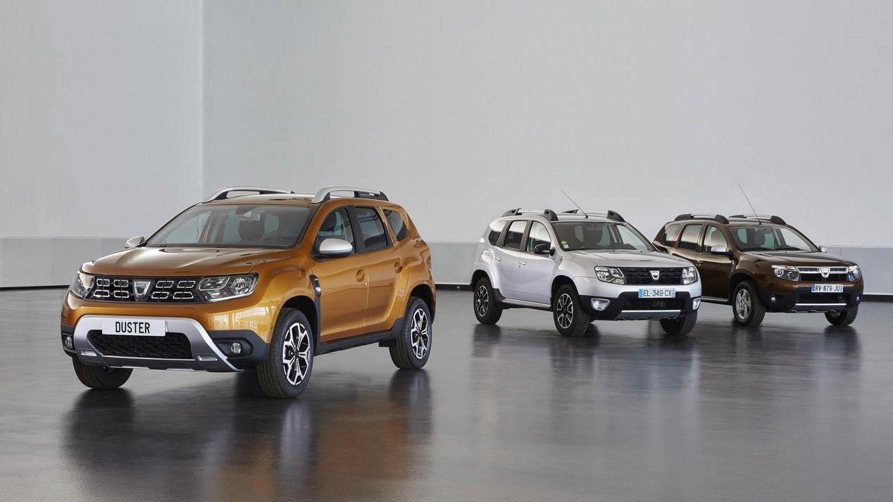 Dacia Duster 2018, las mejores fotos del SUV low cost