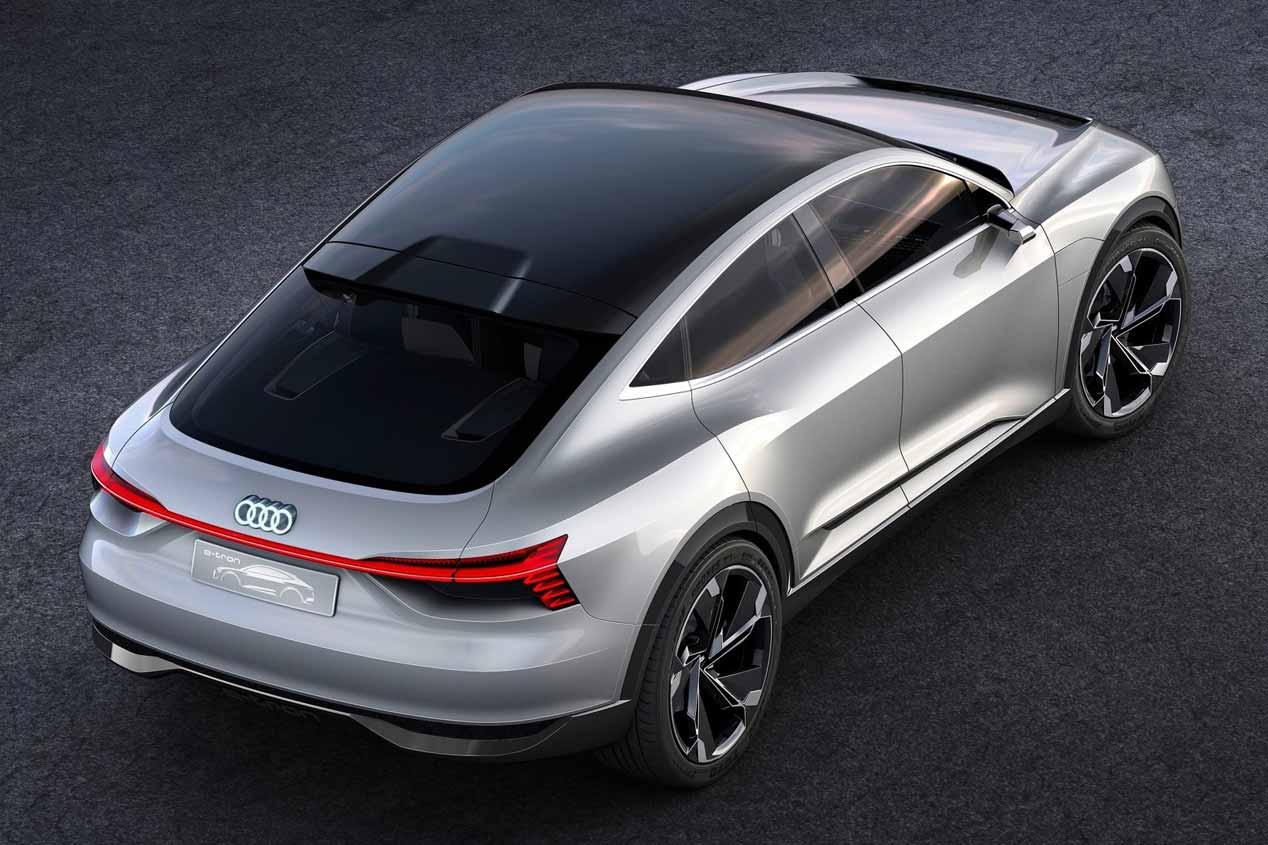 Los dos nuevos SUV eléctricos de Audi, en 2021