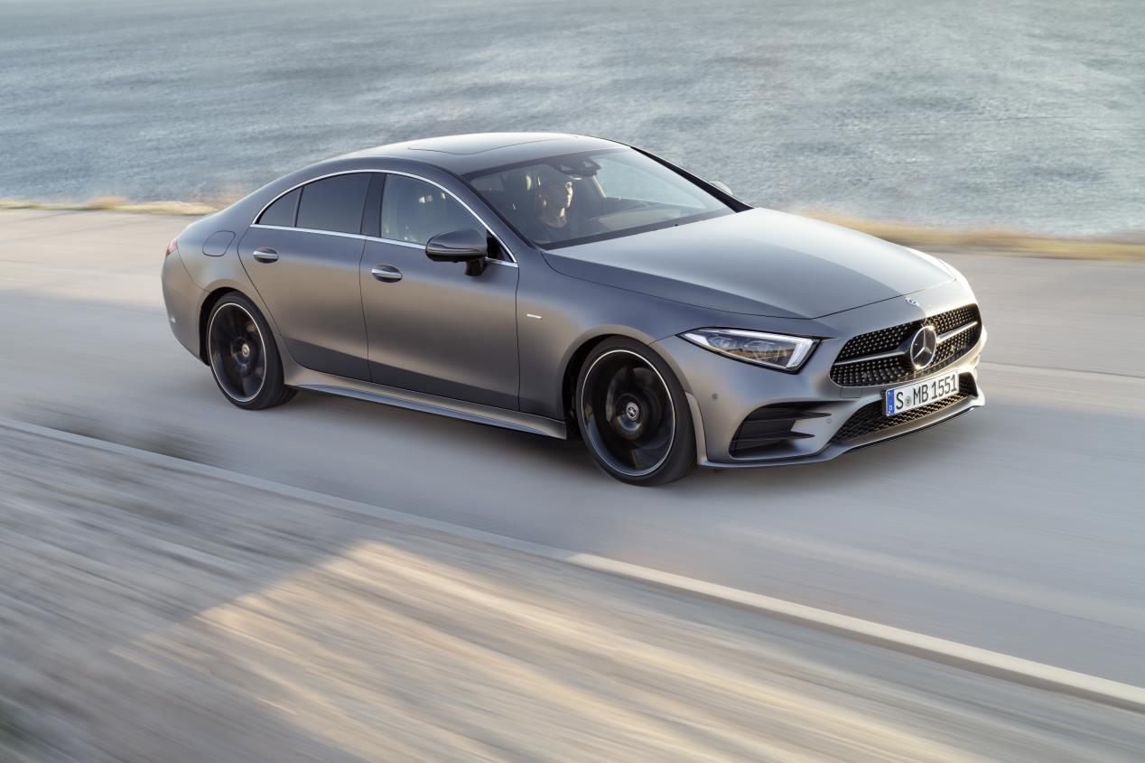 Mercedes CLS: la tercera generación llegará en marzo de 2018