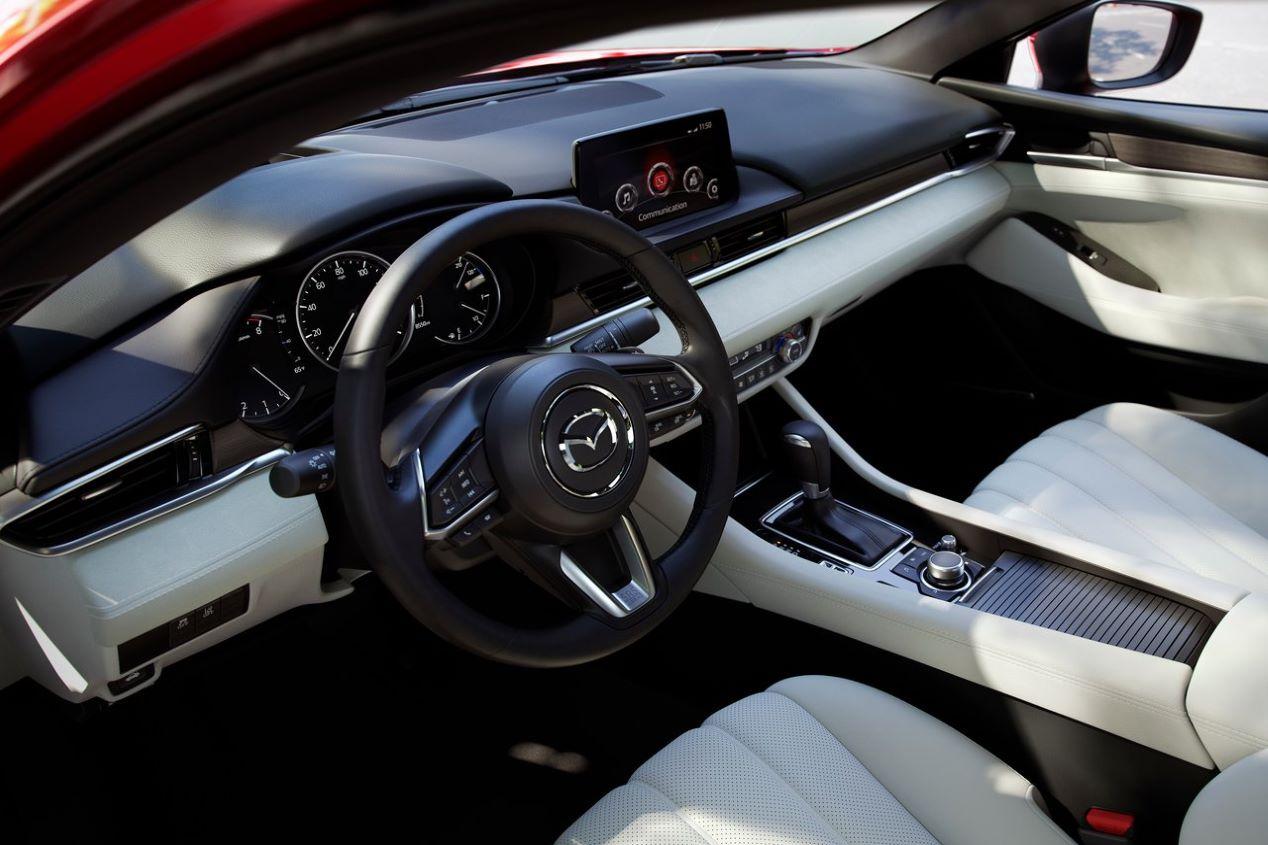 Mazda 6 2018: fotos oficiales de la nueva berlina