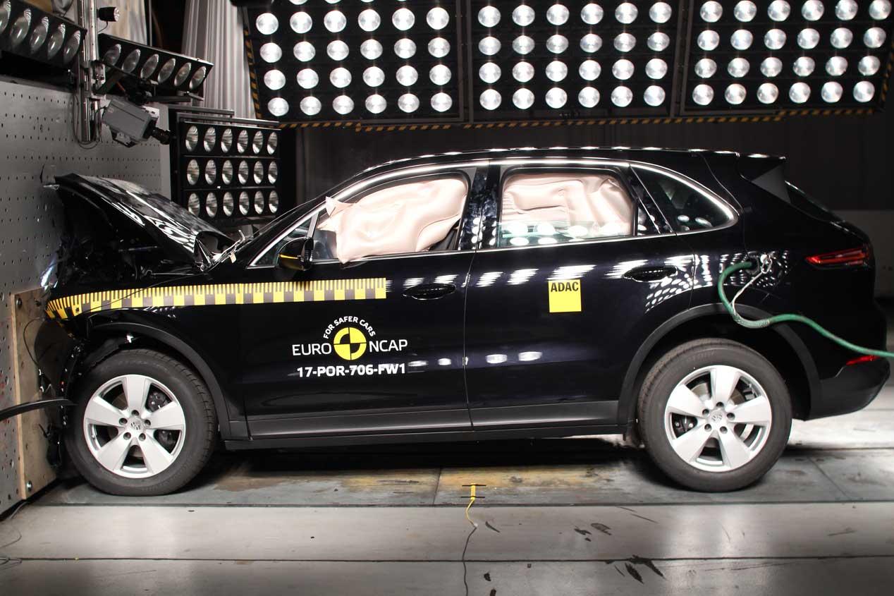Ultimos test Euro NCAP: BMW X3, DS7 Crossback, Mercedes Clase X...
