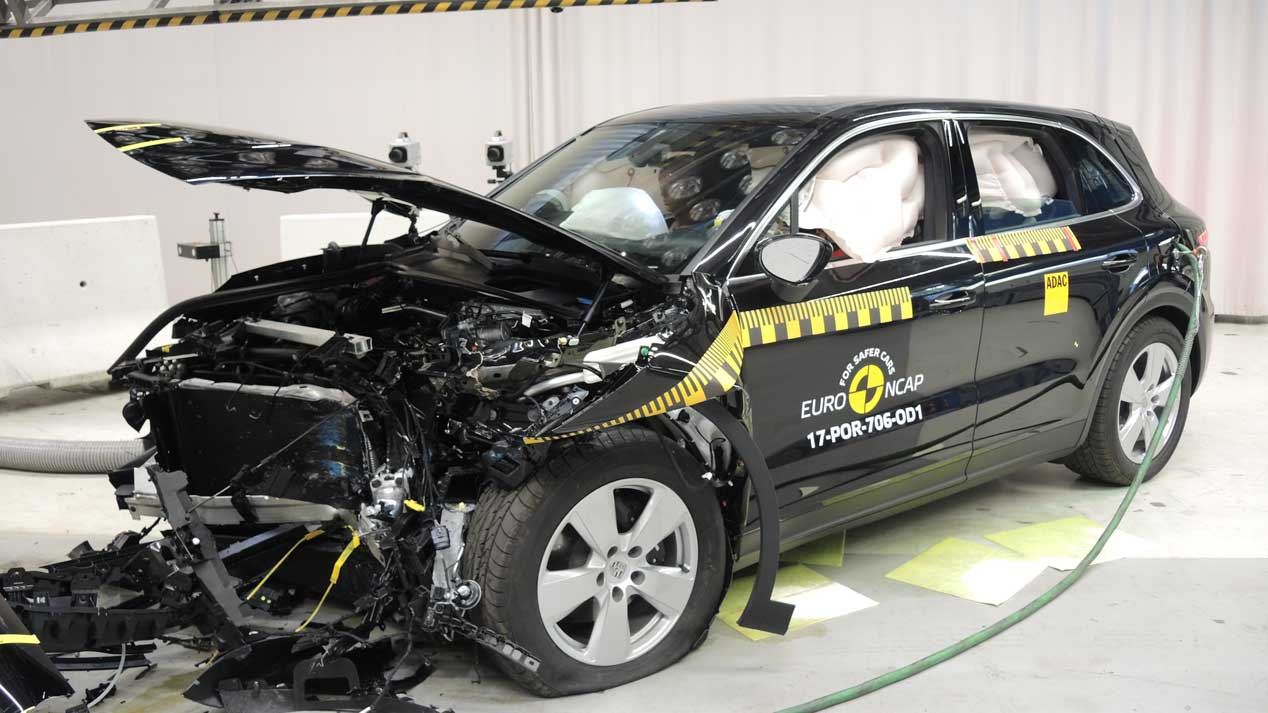 Ultimos test Euro NCAP: BMW X3, DS7 Crossback, Mercedes Clase X...
