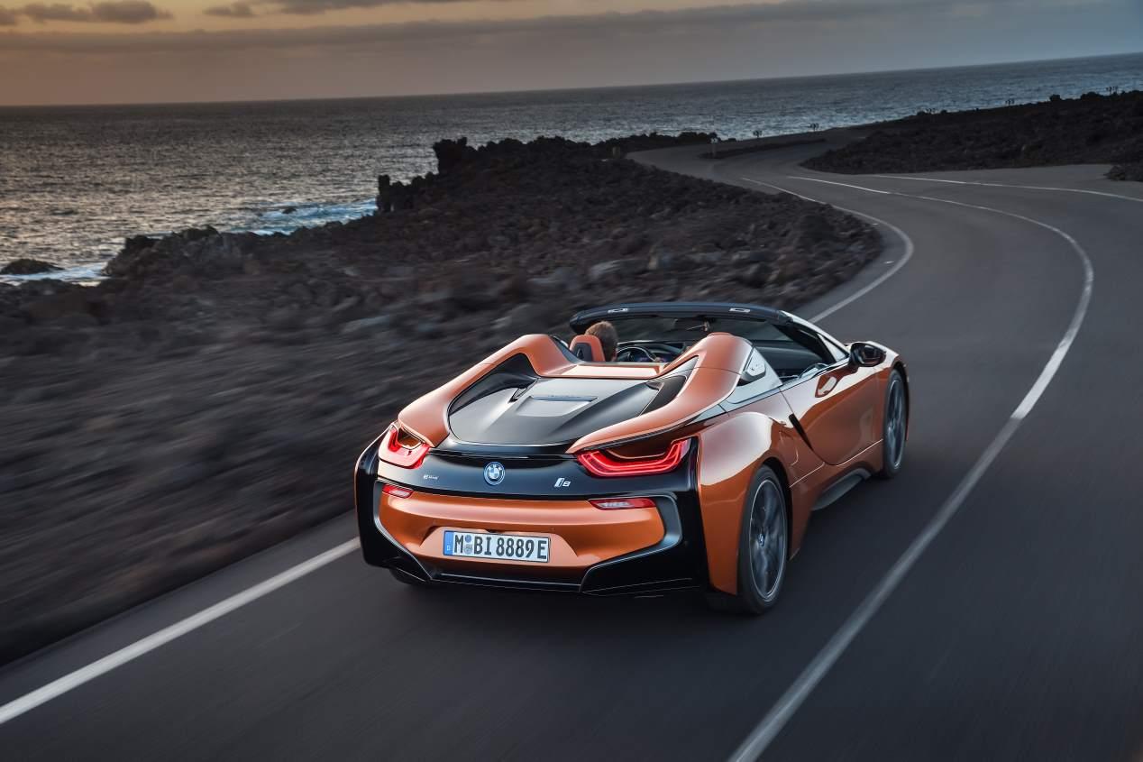 BMW i8 Roadster: el nuevo deportivo, al descubierto