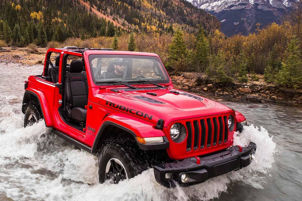 Jeep Wrangler 2018: sus fotos más espectaculares