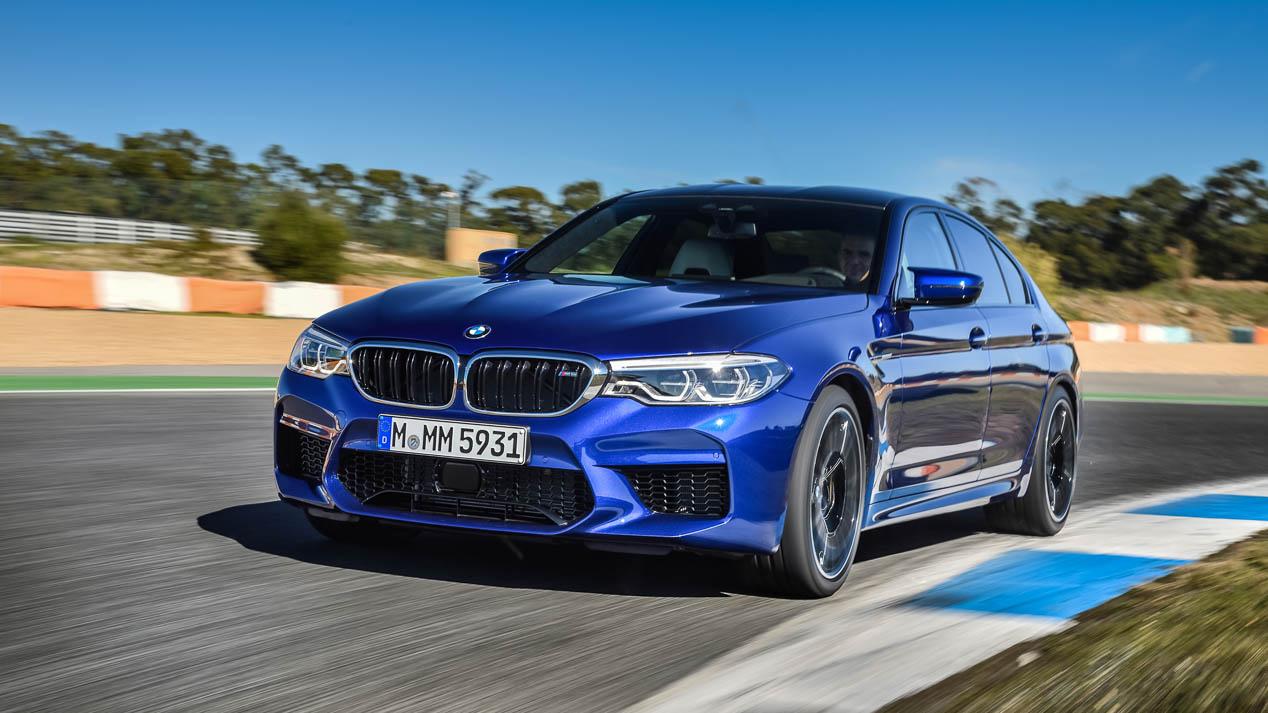 Nuevo BMW M5: ¡a prueba!