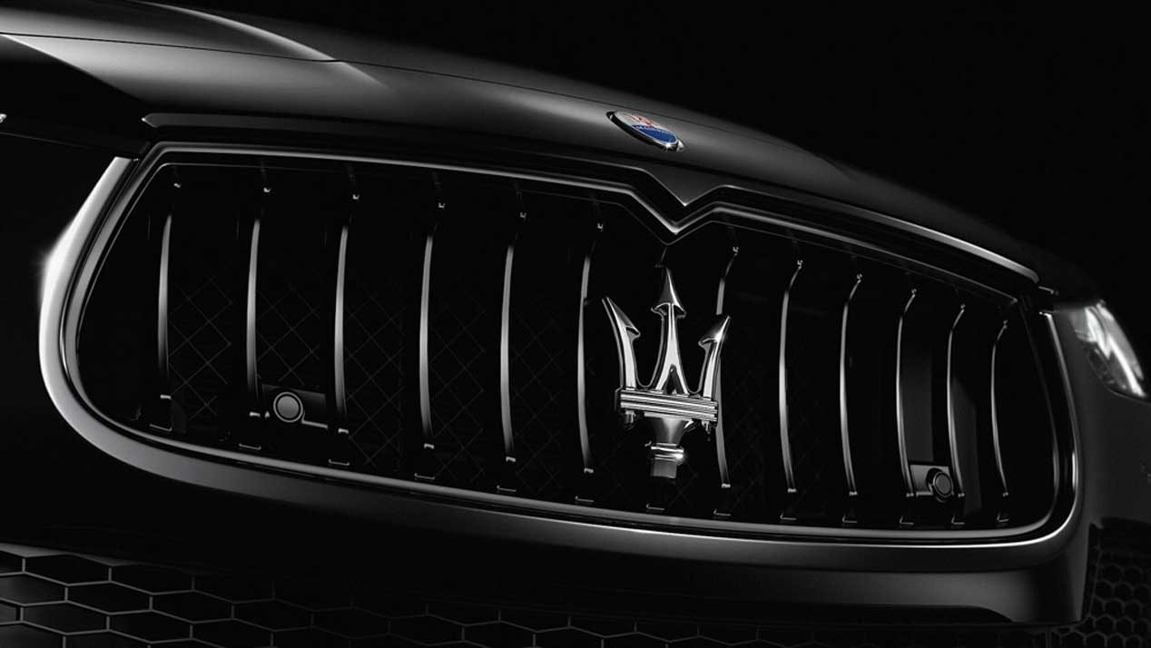 Maserati presenta su acabado Nerissimo para el Levante, el Ghibli y el Quattroporte