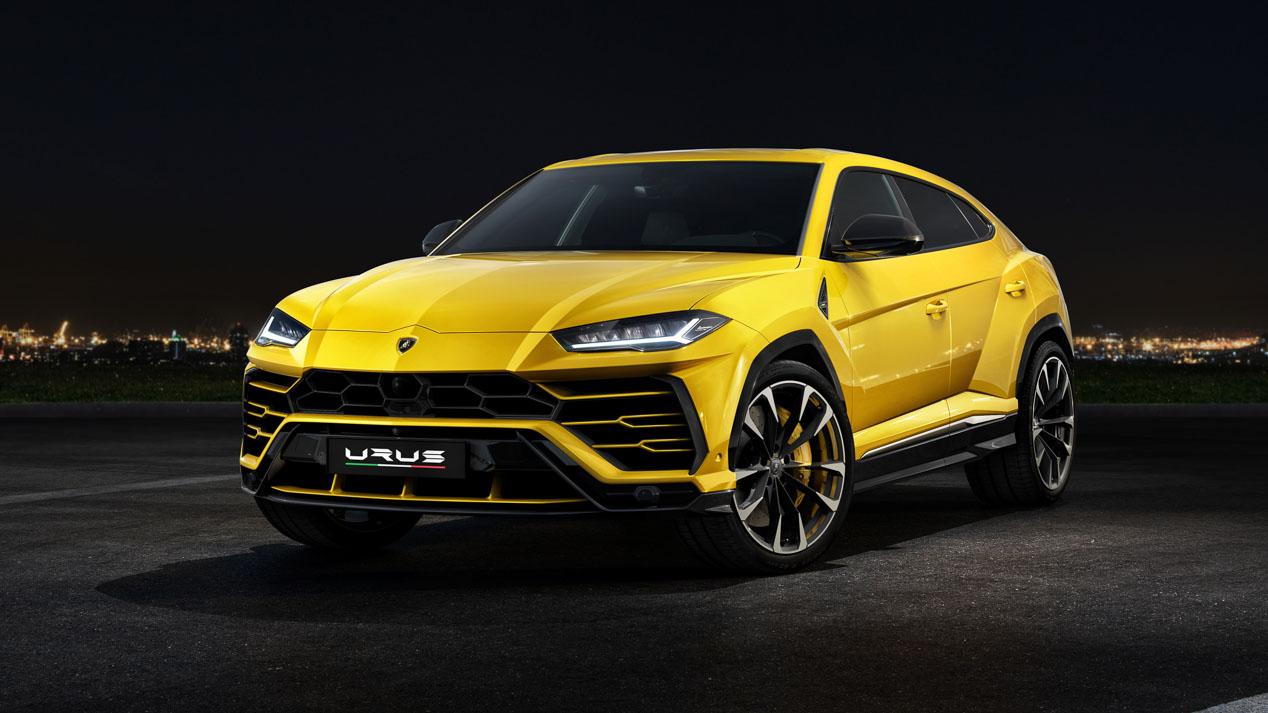 El Lamborghini Urus en imágenes, el nuevo SUV de lujo