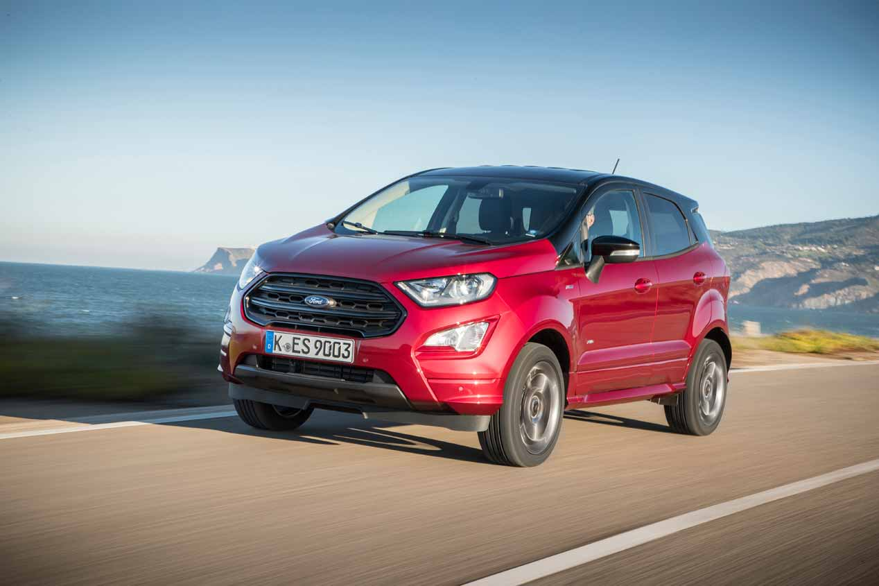 El Ford EcoSport 2018, a prueba. Sus mejores fotos