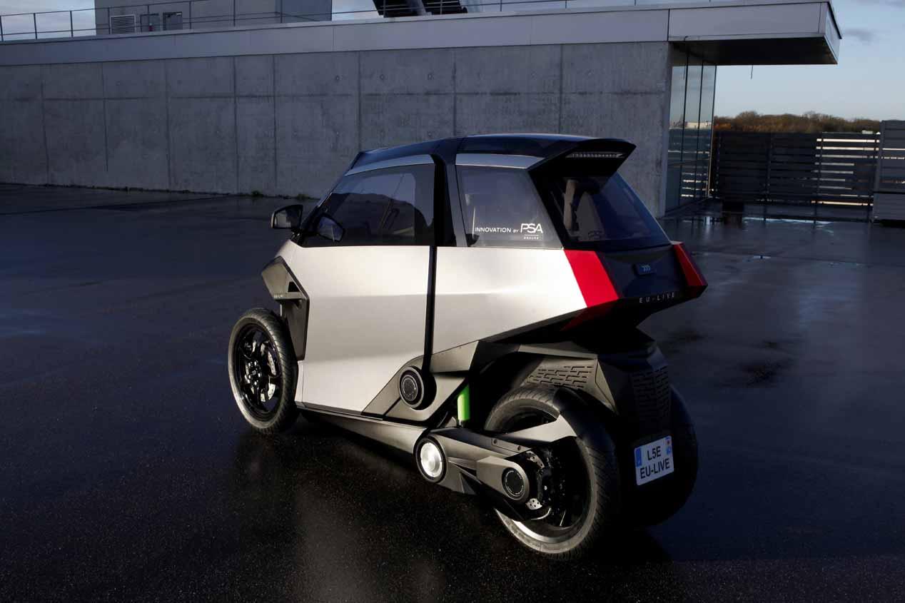 PSA EU-Live: scooter y cuadriciclo híbrido, todo en uno