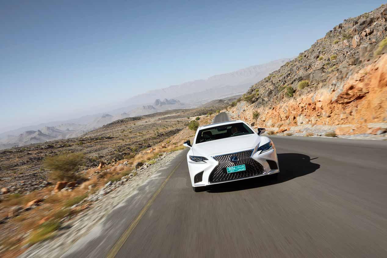 A prueba el Lexus LS 500h 2018