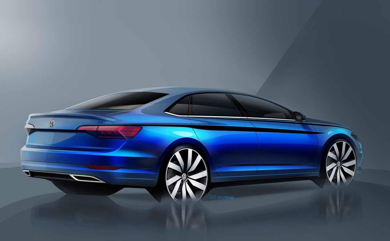 La séptima generación del VW Jetta, a punto