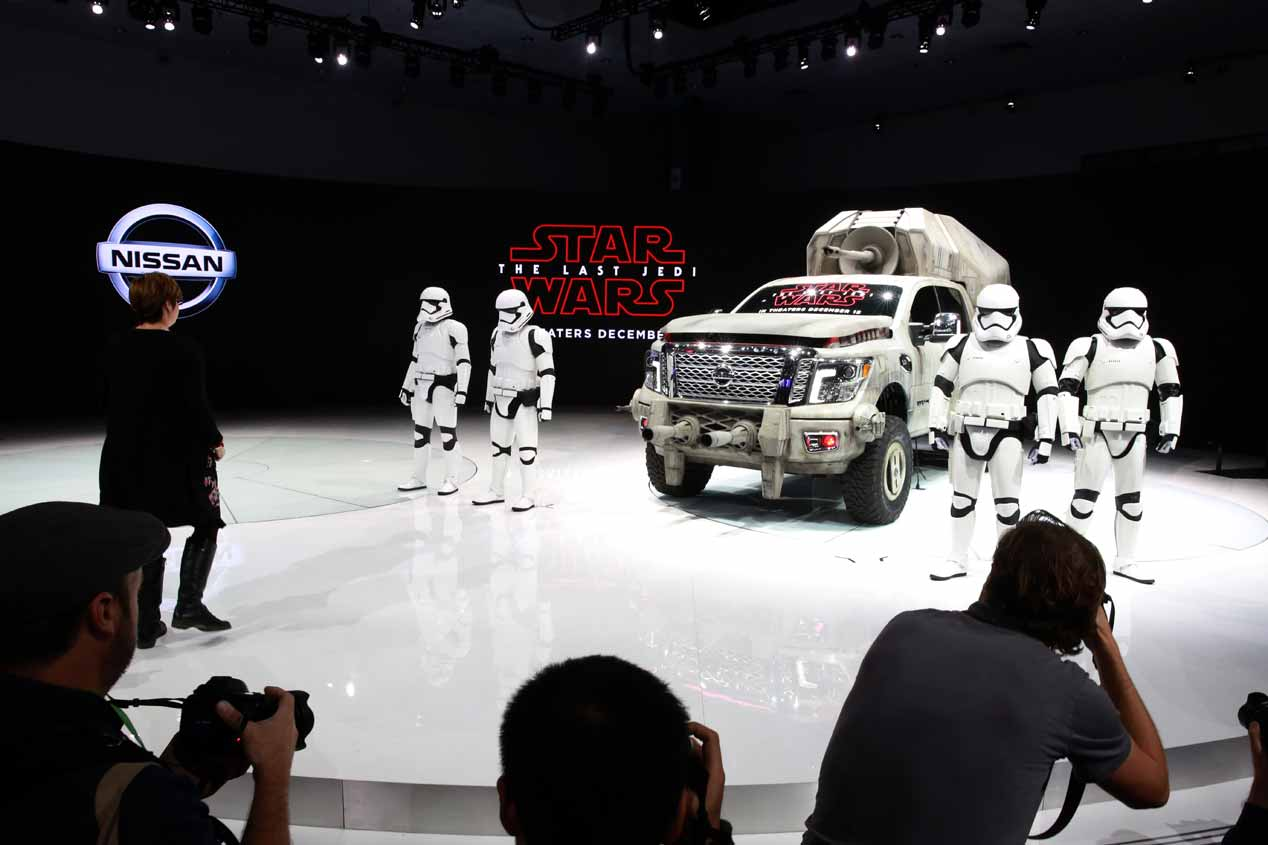 Nissan y sus modelos inspirados en Star Wars: El último Jedi. ¡Brutales!