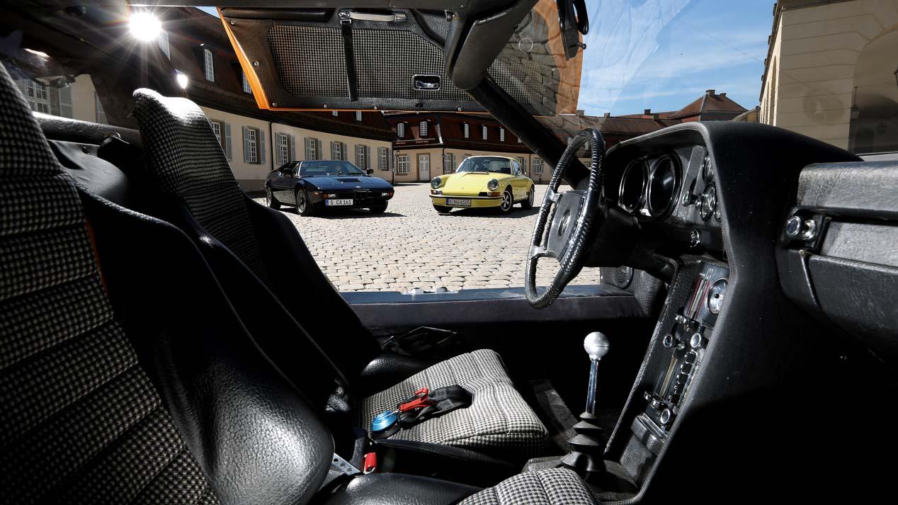 Comparativa de clásicos: BMW M1, Mercedes C111 y Porsche 911 Carrera RS