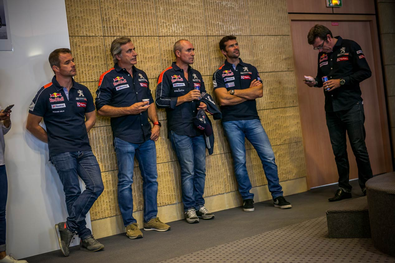 Dream Team de Peugeot para el Dakar