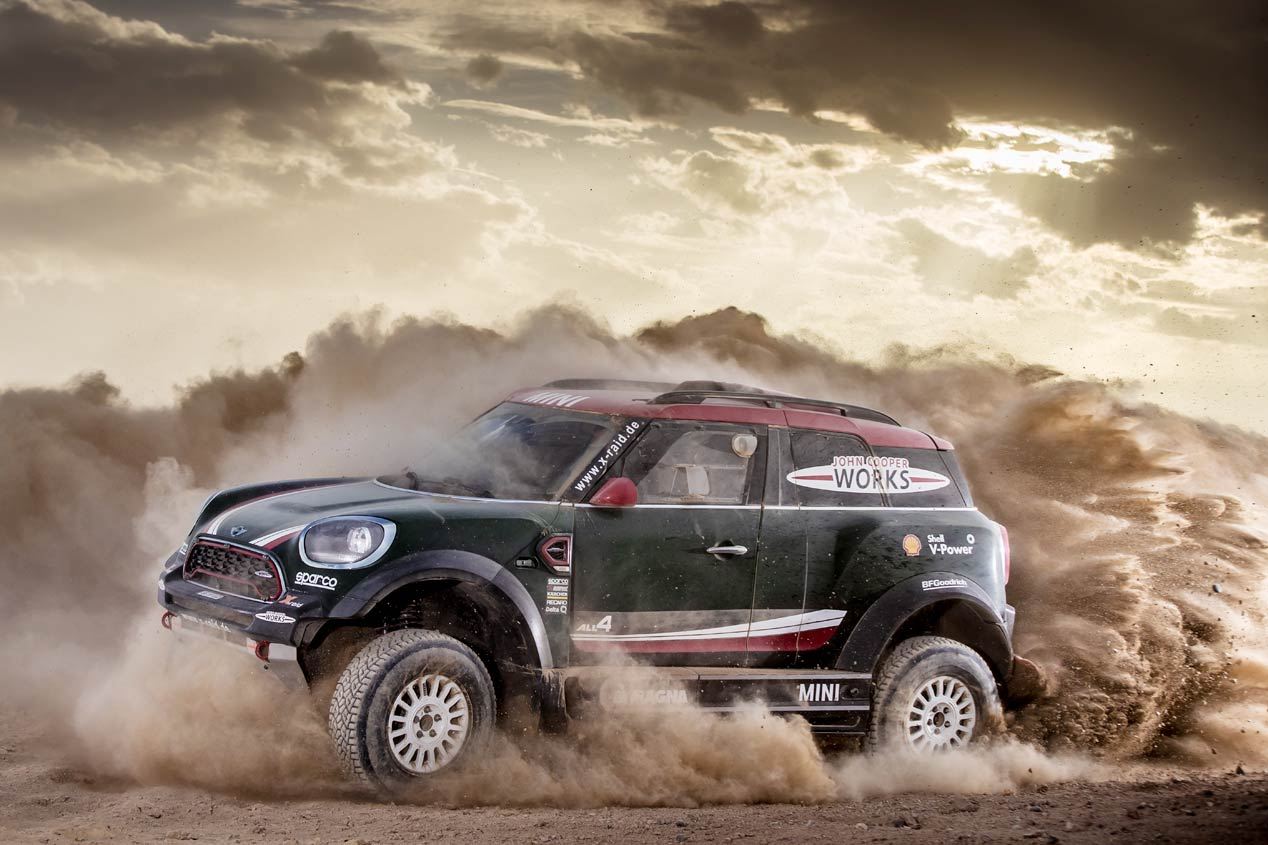 Mini John Cooper Works Rally 4x4 del Dakar