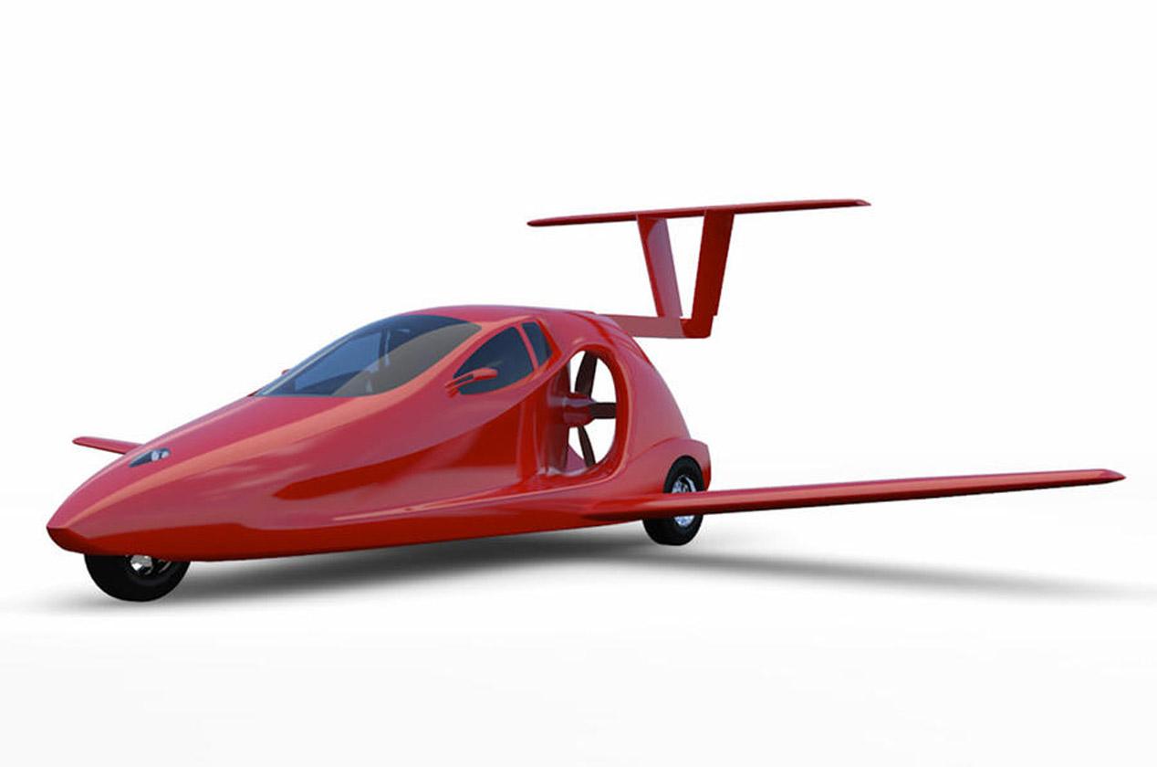 Samson Switchblade, construye tu propio coche volador