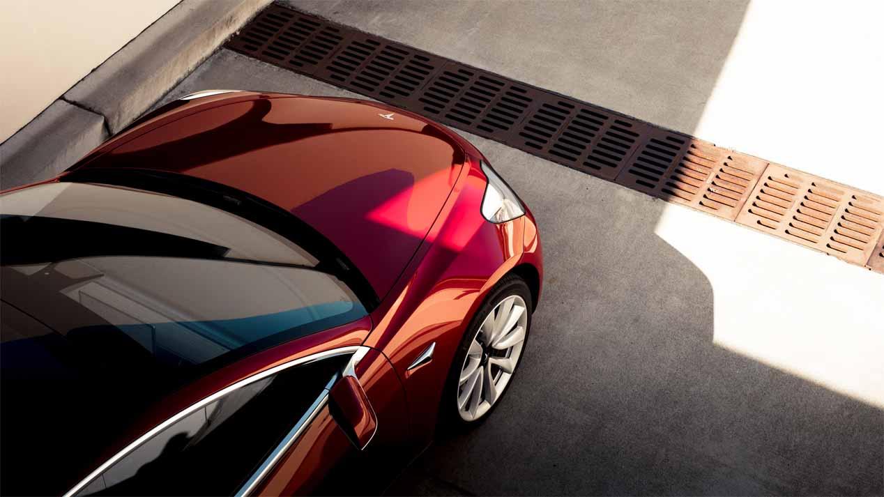 Tesla 3, eléctrico, pero no tan eficiente