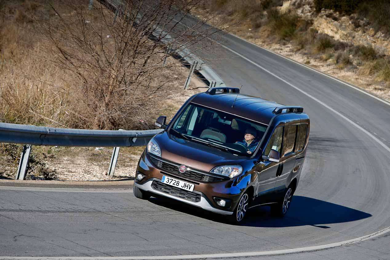 Fiat Dobló Panorama Trekking, ya a la venta