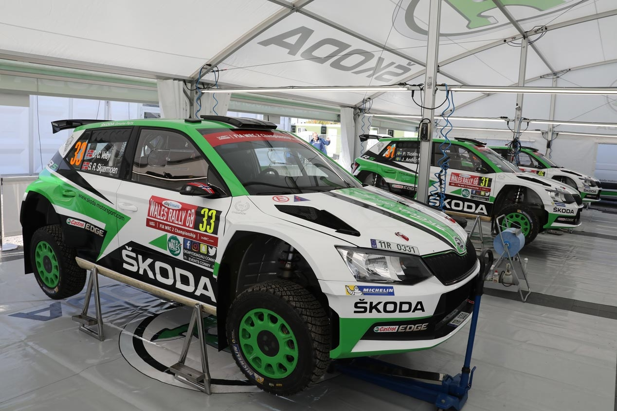 Así es el Skoda Fabia R5 de rallyes