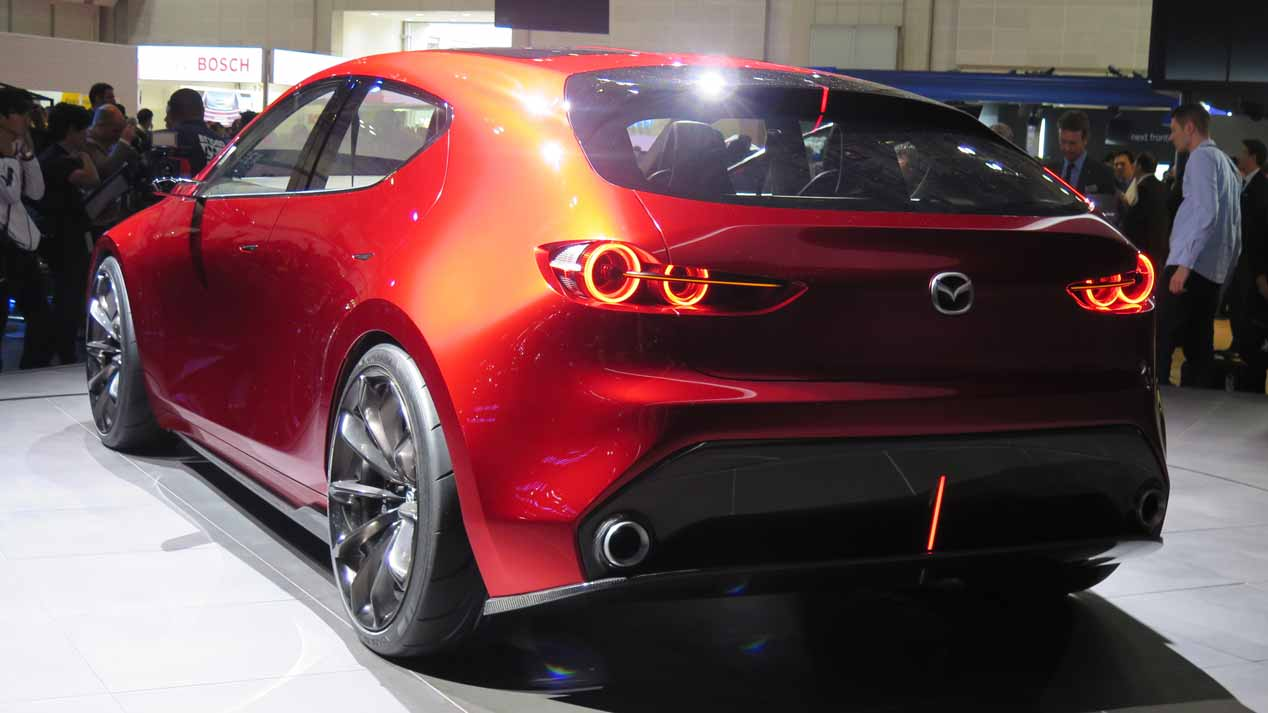 Los coches nuevos y SUV de Mazda en 2018, en imágenes