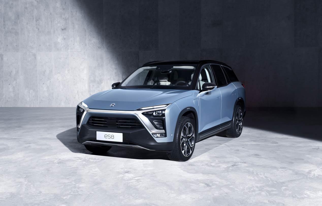 Nio ES8: nuevas fotos del SUV eléctrico chino