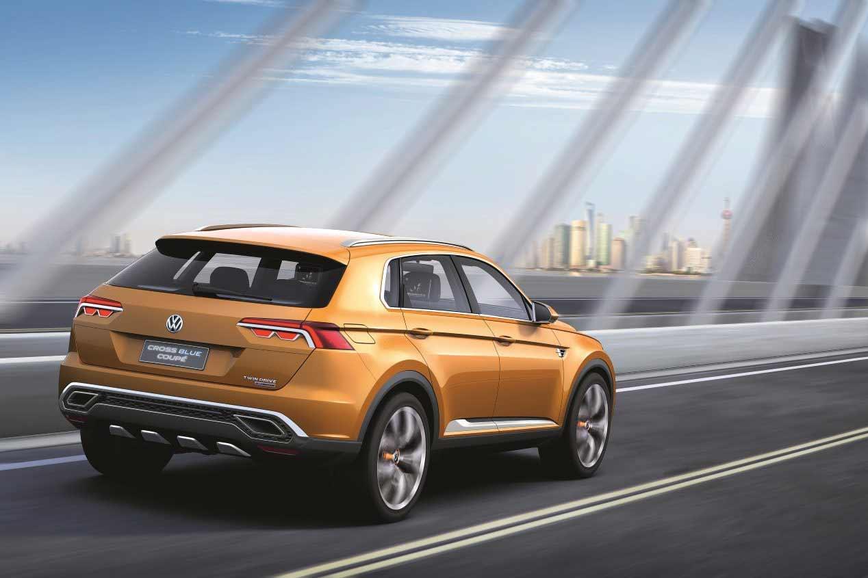 VW Tiguan Coupé: paso al Tiguan más deportivo
