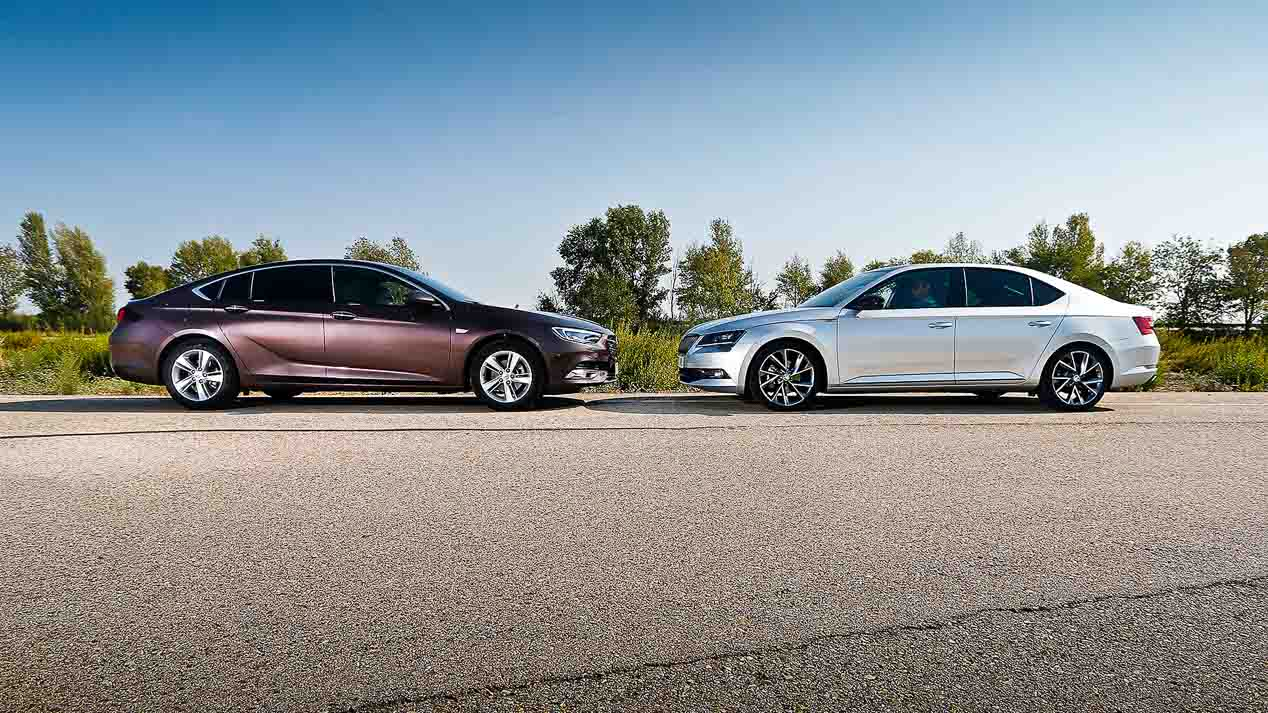 Skoda Superb vs Opel Insignia