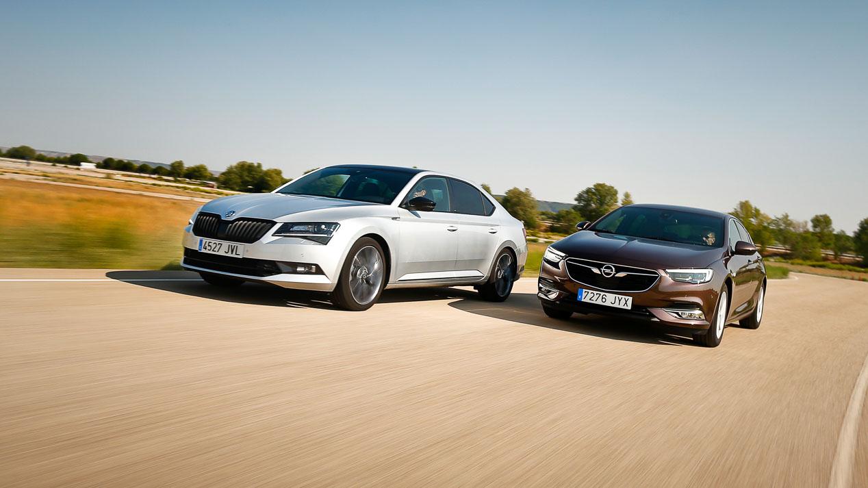 Comparativa: Opel Insignia 1.5 Turbo vs Skoda Superb 1.4 TSI