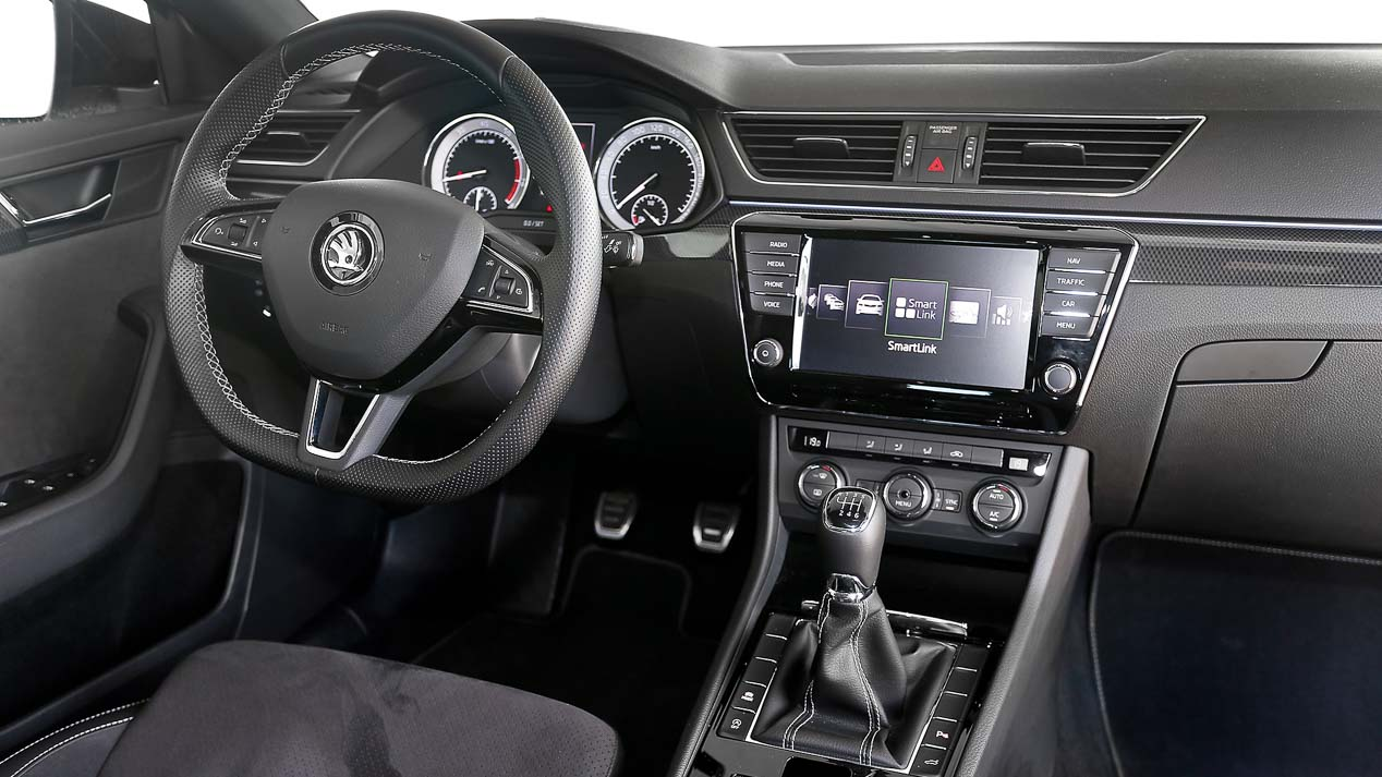 Interior Skoda Superb