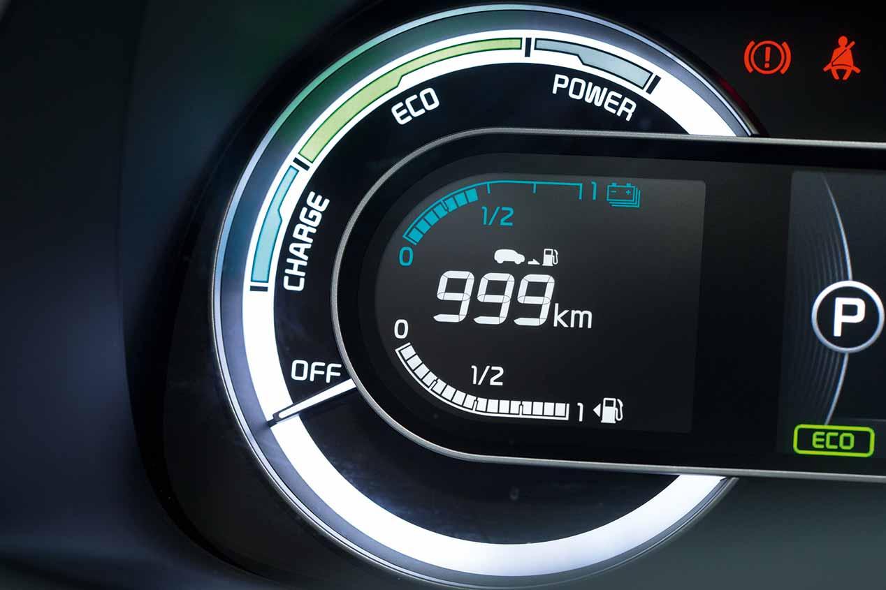 Kia Niro, consumo de récord: sólo 2,53 l/100 km