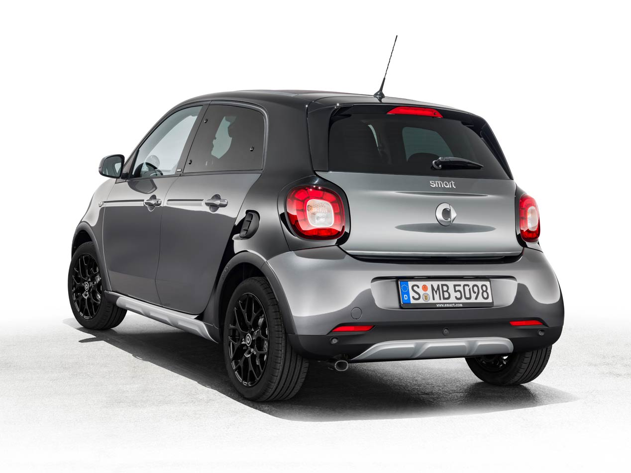 El Smart ForFour Crosstown Edition ya admite pedidos