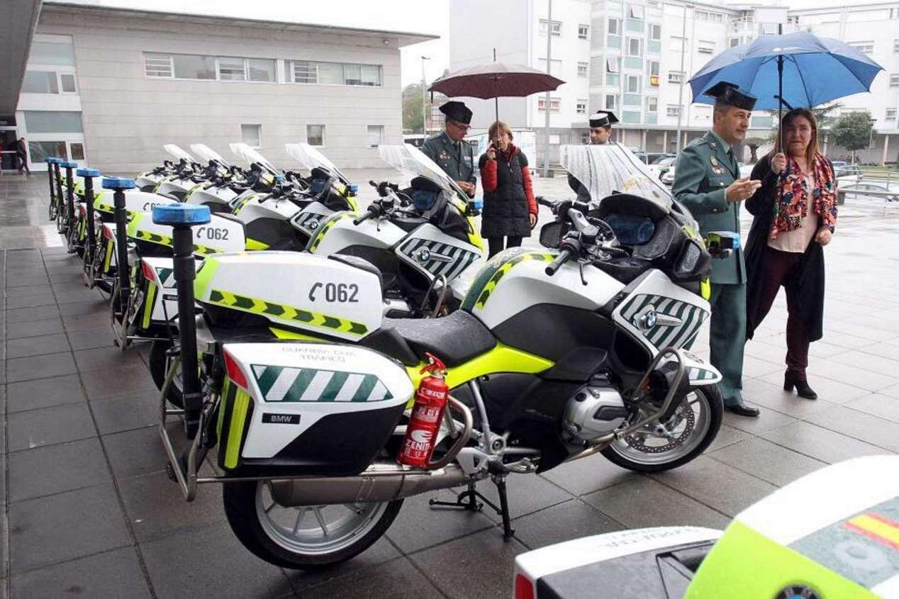 Las nuevas motos con radares portátiles de la Guardia Civil