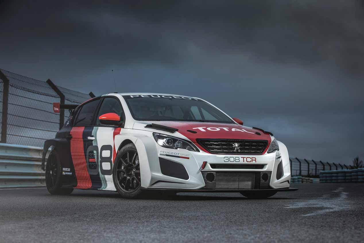 El Peugeot 308 TCR 2018, en imágenes